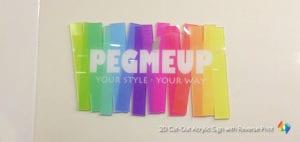 logo cutout acrylic signage