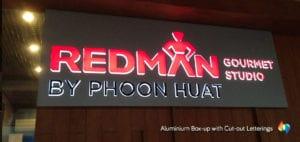 aluminum lightbox signboard
