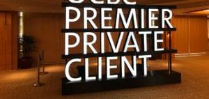 OCBC 3D signage