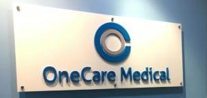Acrylic Signage One Care