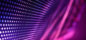 LED Video Wall close up