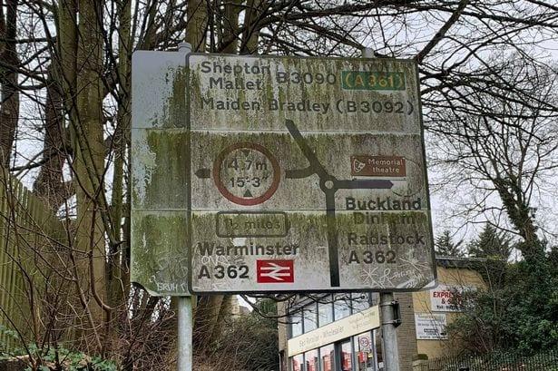 Dirty signage