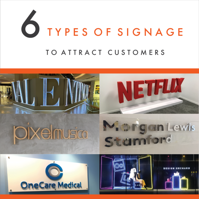 6 types of signage to attract customer