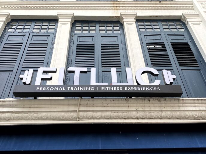 Fitluc LED Signage front of building