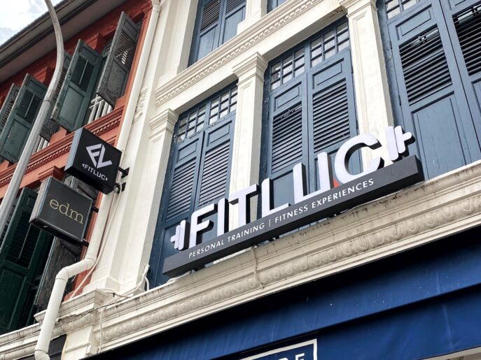 Fitluc LED Signage in the day
